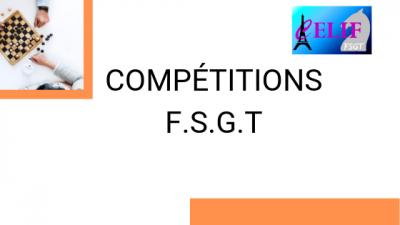 Compétition FSGT