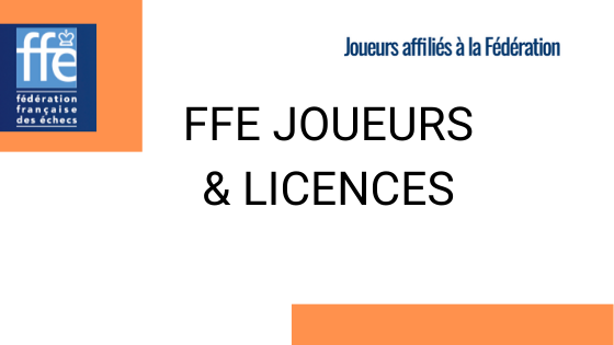 FFE Joueurs & Licences